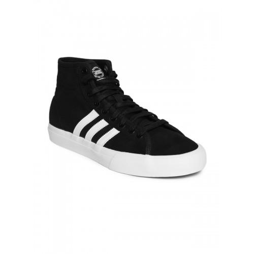 Buy Adidas Originals Men Black Matchcourt High RX