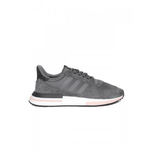 4c2109a2247 Buy Adidas Originals Men Charcoal Grey ZX 500 RM Sneakers online ...