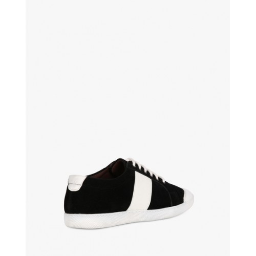 e512d1e371e0f0 Buy AJIO Panelled Low-Top Lace-Up Sneakers online