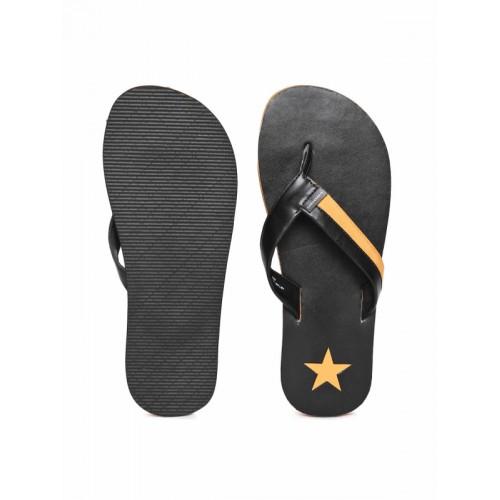 756a59579b81 Buy Converse Men Black   Orange Solid Thong Flip-Flops online ...