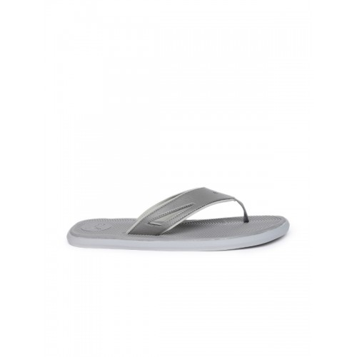 7dbbfc284b6532 Buy Puma Men Grey Solid Thong Flip-Flops online