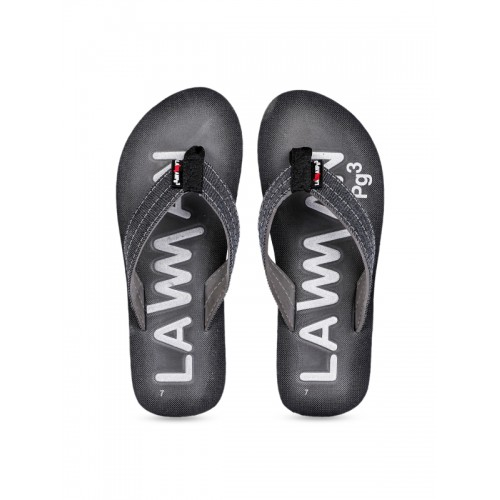 7b41a18da2ce Buy Lawman pg3 Men Grey Printed Thong Flip-Flops online