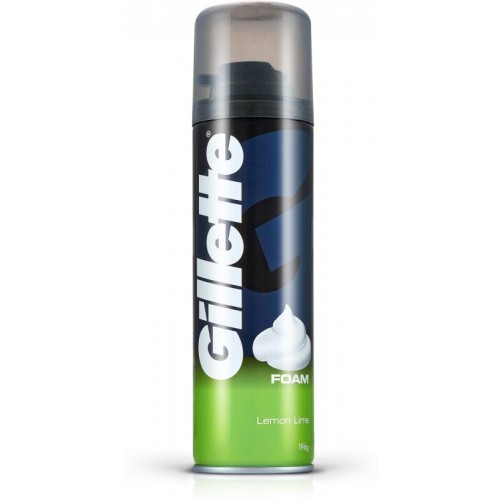 Gillette Lemon - Lime Shave Foam(196 g)