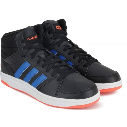 a08d63b4b7b Buy ADIDAS NEO HOOPS VS MID Mid Ankle Sneakers For Men(Black ...