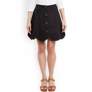 Rider Republic Black A-Line Skirt