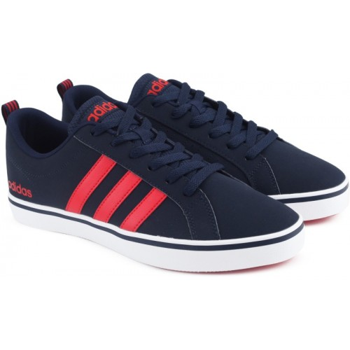 sports shoes 69b9b a9c5f Buy ADIDAS NEO VS PACE Basketball Shoes For Men(Blue) online  Looksgud.in
