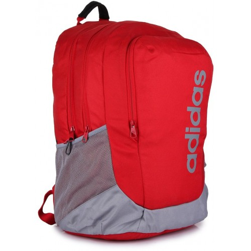 eb6f7f03e3a9 Buy Adidas Unisex Red PARKHOOD XL Laptop Backpack online