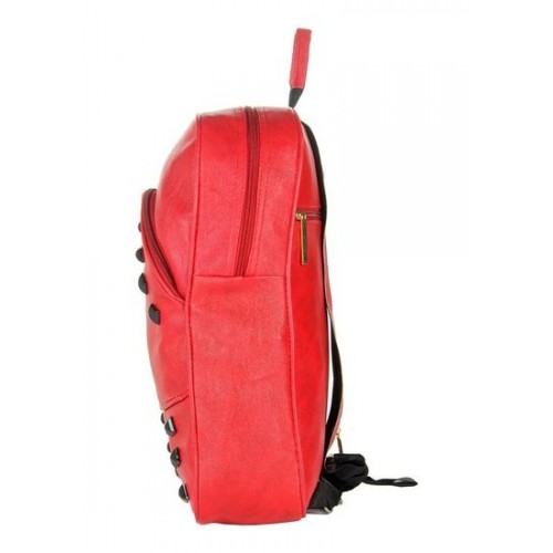 edc4a224d1ee ... Stylish and Fashionable Red Color Backpack By JG Shoppe For Women Girls Ladies  ...