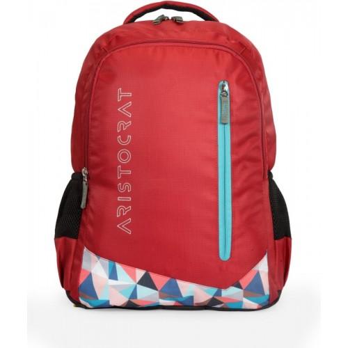 e7615c5fc794 Buy Aristocrat Wego 1 School Bag 34 L Backpack(Red) online