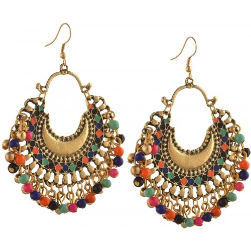 You Bella Stylish Fancy Party Wear earrings Jewellery Alloy Dangle Earring