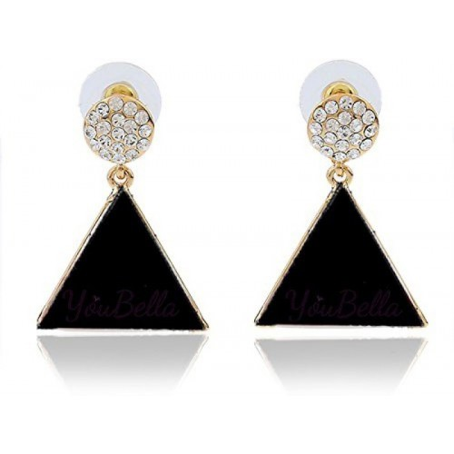You Bella Stylish Fancy Party Wear Jewellery Earrings Alloy Dangle Earring