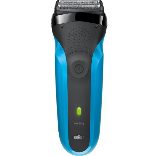 Braun 310s - W&D  Shaver For Men(Black, Blue)