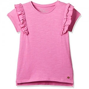 Mothercare Pink Cotton Regular Fit T-Shirt