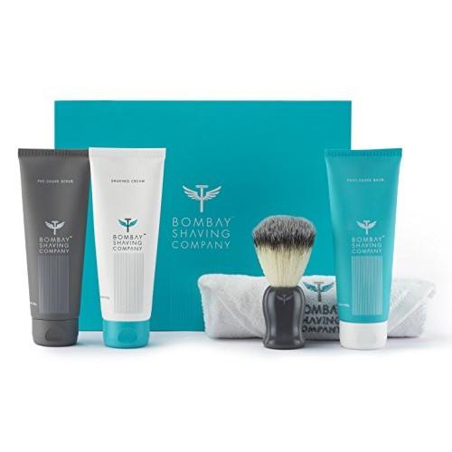 Bombay Shaving Company Shaving Essentials Value Kit(Cream, Scrub, Balm, Brush)