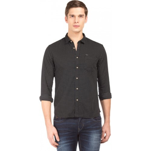 Flying Machine Men Checkered Casual Shirt
