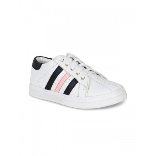 Bruno Manetti Kids White Sneakers