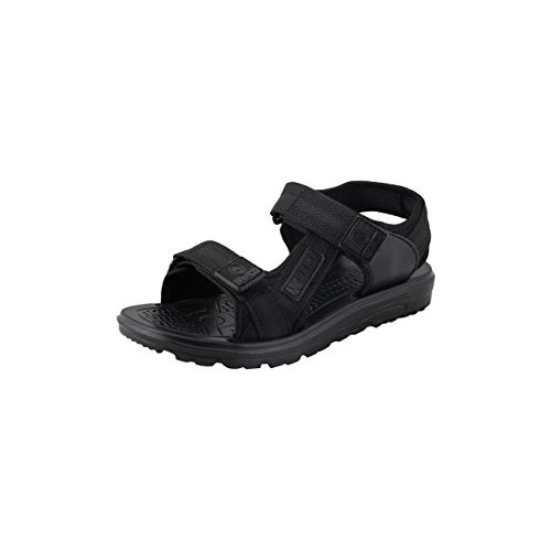 HMT XPERT Girls & Boys All Season Black School Sandals with Velcro