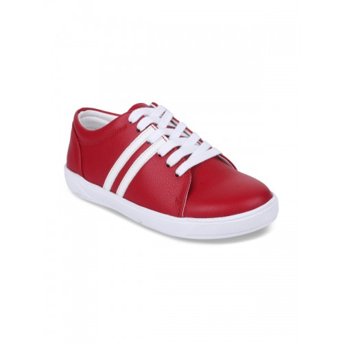 Bruno Manetti Unisex Red Sneakers