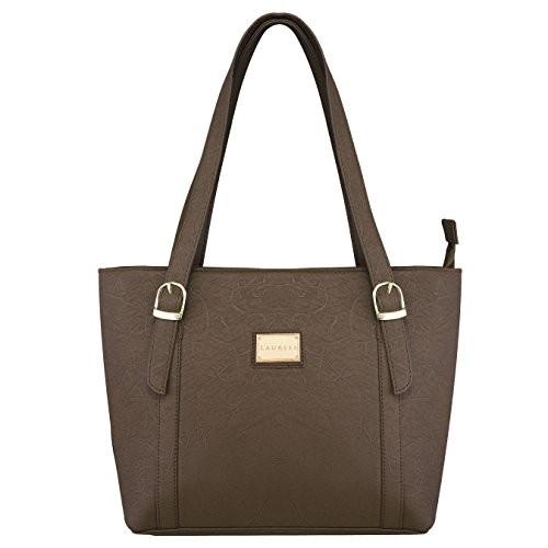 Laurels Atom Brown Color Women's Handbag- LBH-ATOM-090909