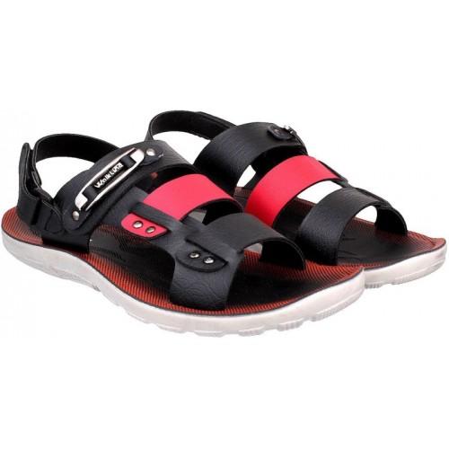 WalkLine Men's Black Outdoor Sandal