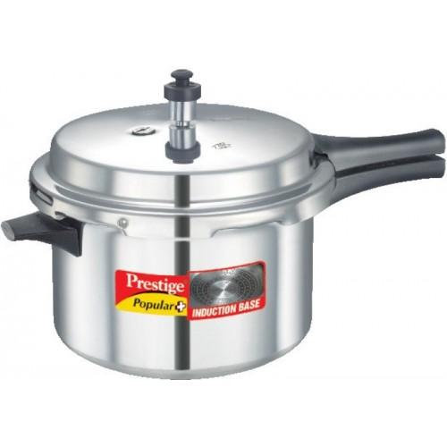 Prestige 5.5 L Pressure Cooker with Induction Bottom(Aluminium)