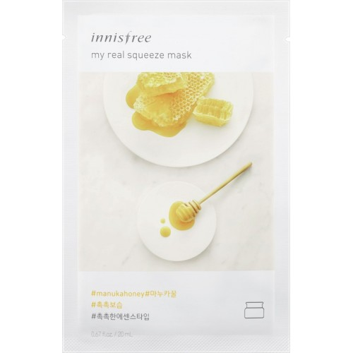 Innisfree My Real Squeeze Mask - Manuka Honey(20 ml)