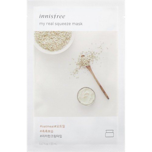 Innisfree My Real Squeeze Mask - Oatmeal(20 ml)