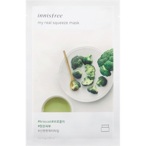 Innisfree My Real Squeeze Mask - Broccoli(20 ml)