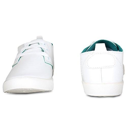 SCATCHITE White Canvas Lace Up Casual Shoes
