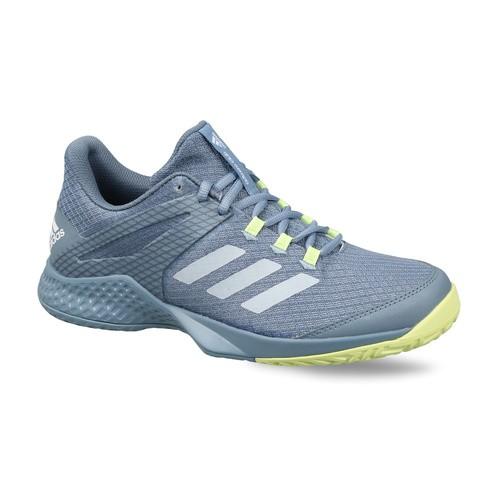 Adidas Kids Grey ADIZERO CLUB K Tennis Shoes