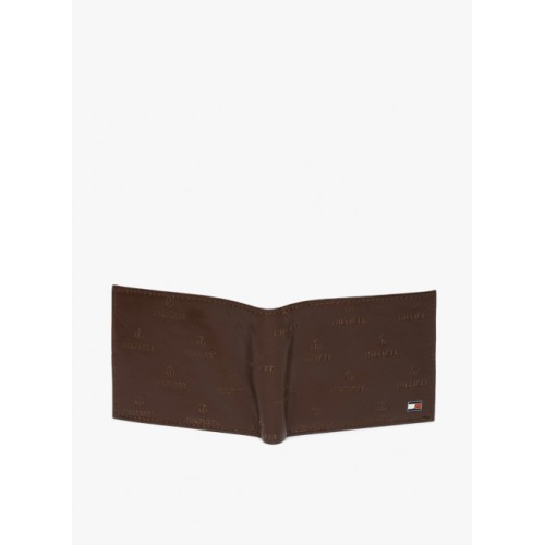 Tommy Hilfiger Brown Leather Wallet