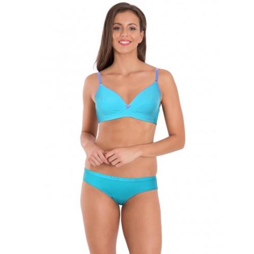 431f648a3a Buy Jockey Teal   Iris Blue Fashion Fit Bra online