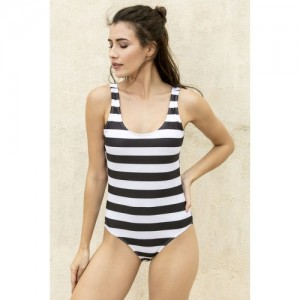 bea0e058c34 Buy Zivame Padded Cold Shoulder Swimuit - Orange N Print online ...