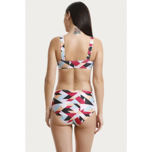 Zivame Padded Bikini Set - Multi Color