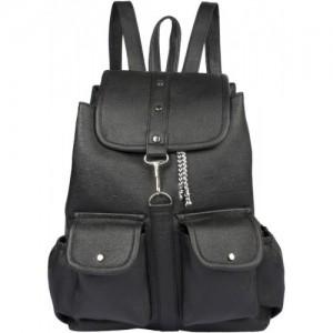 4ff7e5b4cc2 Buy VARSHA WOMEN BACKPACK BAG BLACK 12 online | Looksgud.in