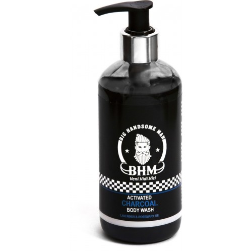 Big Handsome Man Activated Charcoal Body Wash, 300 ml