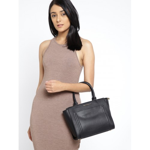 Lisa Haydon for Lino Perros Black Solid Handheld Bag