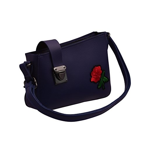 c1dfed3542 ... TAP FASHION Fancy Stylish Party Wear Women's Sling Bag With Rose Flower  for Ladies and Girls ...