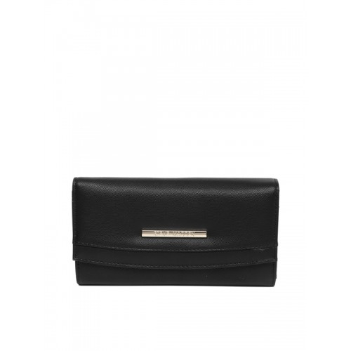 8666cc509fc Buy Steve Madden Women Black Solid Two Fold Wallet online ...