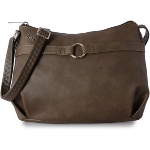 Baggit Women Casual Brown PU Sling Bag