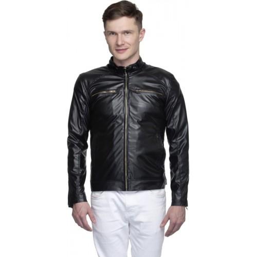 Lambency Full Sleeve Solid Men's Riding  Jacket