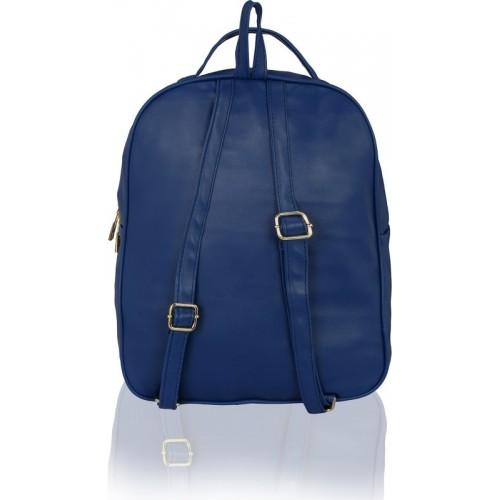 4d47b8593ecd Buy Kleio Stylish College Backpacks For Girls   Women (Royal Blue)  (EDK1037KL-RB) 8 L Backpack(Blue) online