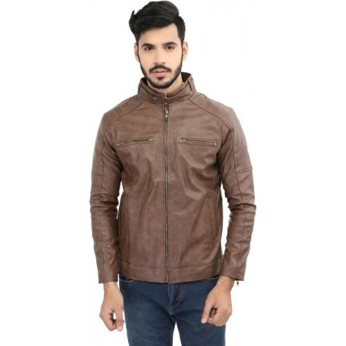 CP Club Full Sleeve Solid Men's Jacket