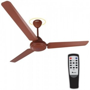 Gorilla E1-1200 Matte Brown Ceiling Fan with Remote Control