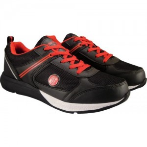 Action Synergy 7175 Black Red Sports Running Shoes For Men