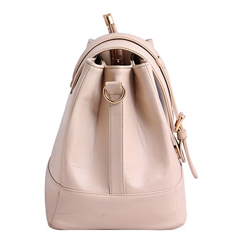 Women Marks Pink Polyurethane Sling Bag