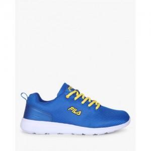 Fila Running Shoes For Men(Yellow, Blue)