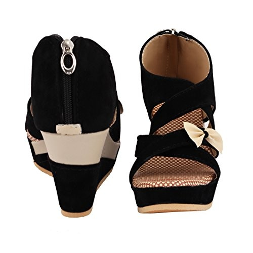 ABJ Fashion Block Heel Wedges Sandals For Women A033