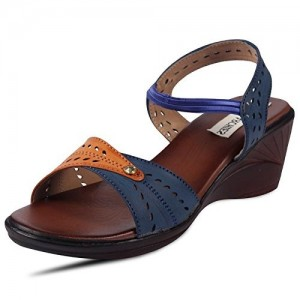 Anand Archies Artificial Leather Orange Sandals for Girl's & Women's (6517-P)
