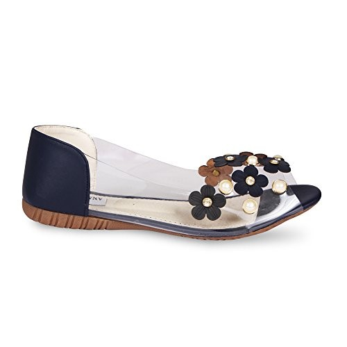 ANAND ARCHIES Blue Artificial Leather Bellies for Women